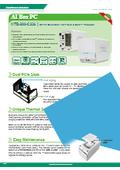 ファンレス組込みPC IEI HTB-200-C236 製品カタログ