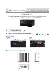J3455搭載 小型ファンレスPC 【HBFBU02-00-B】 表紙画像