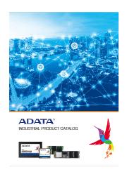 総合カタログ_インダストリアル製品_ADATA_R01_2101 表紙画像