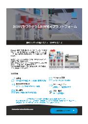 自動ナノ粒子製造システム (ANPシステム)      *日本薬剤学会第36年会出展 (オンライン) 表紙画像