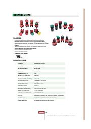 HPB22シリーズ、コントロールユニット(φ22mm) 表紙画像