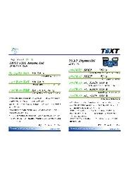 モーターオイルパンフレット『TEXT』 表紙画像