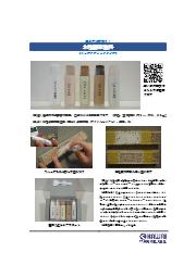 『水性固形塗料(リップスティックタイプ)』カタログ 表紙画像