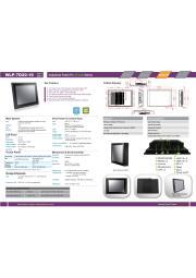 19型第5世代Core-i5-5200U-2.2GHz CPU搭載の高性能ファンレス・タッチパネルPC『WLP-7D20-19』 表紙画像