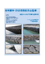 海岸護岸・防波堤機能保全整備 表紙画像
