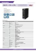 DINレール対応産業用ファンレスPC【DRPC-330-A7K】