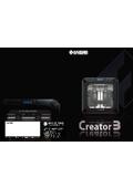 独立式デュアルヘッド3Dプリンター『Creator3』