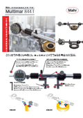 【製品フライヤー】汎用長さ測定機(外径・内径用)『Multimar 844T』 表紙画像