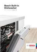 食洗機 洗っている時の音の小ささに驚愕する食器洗い機『BOSCH(ボッシュ)ビルトイン(45cm)前面操作タイプ』 表紙画像