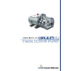 容積式自吸ポンプ『二軸スクリューポンプ』 表紙画像