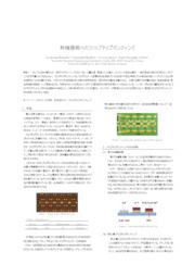【技術資料】有機基板へのフリップチップボンディング 表紙画像