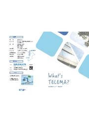 株式会社テレマ 会社案内 表紙画像