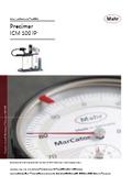 【製品カタログ】自動ダイヤルゲージ検査機『Precimar ICM 100 IP』 表紙画像