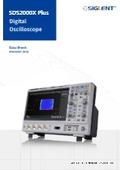 SDS2000X Plusシリーズ スーバー蛍光体オシロスコープ