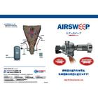 粉体・粉粒体流動活性化システム『AirSweep』 表紙画像