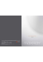 MAXRAY NEW PRODUCTS 2020 表紙画像