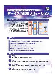 BPOサービス『データ入力改善ソリューション』 表紙画像