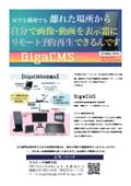 動画・画像リモート予約再生システム『GigaCMS』