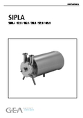 「SIPLA」自吸式ポンプ取扱説明書