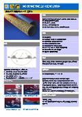排気ガス用耐熱ホース 220℃  PROTAPE TPE 325 WEAR STRIP