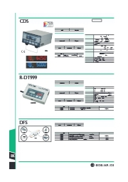 合否判定機能付きトルク表示器CD5カタログ 表紙画像
