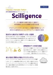 Scilligence 研究情報管理統合プラットフォーム 表紙画像