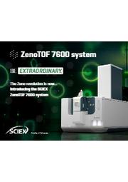 テクニカルノート「定量性能を兼ね備えた新しい定性分析- SCIEX ZenoTOF 7600システム」【英語版】 表紙画像