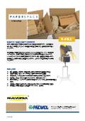 紙製緩衝材 製造機『NUEVOPAK X-FILL』カタログ