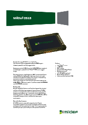 MilDef社 堅牢10.1インチタブレットPC DS13 表紙画像