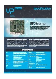 第8世代Coreiシリーズ搭載CPUボード【UP Xtreme】 表紙画像