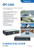 短時間開発、PoE付きの1UサイズファンレスPC SPC-5200シリーズ