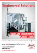 【製品カタログ】全自動表面粗さ測定機 for クランクシャフト『MarSurf Engineered S3100』 表紙画像