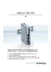 KBox A-330-RPI 表紙画像