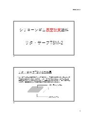 リタ・サーフTSM-2 技術資料 表紙画像
