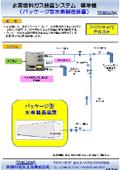 水素燃料ガス検査システム(パッケージ型水素製造装置)