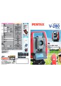 トータルステーション『PENTAX V-280シリーズ』