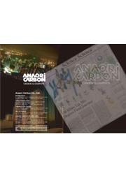穴織カーボン株式会社 製品カタログ 表紙画像