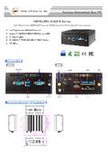 J3455搭載 ファンレスPC【HBFBU691-3455-B】
