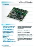 COM Express Compactサイズ CPUモジュール Adbc8039A製品カタログ