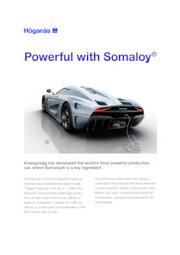 軟磁性複合材(SMC材)『Somaloy(R)』YASA Motor 採用例 表紙画像