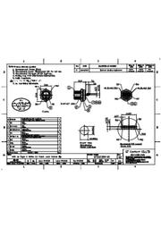 防水コネクタ USB3.1 typeCコネクタのIP67規格対応 ※仕様書(GT21C300-10_02) 表紙画像