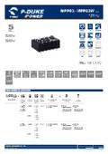 P-DUKE【MPP03】医療用(2MOPP) 高絶縁耐圧 3W DC/DCモジュール 表紙画像