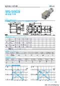 ウォームギアモータ『WG-50GM-01TYPE&02TYPE』 表紙画像