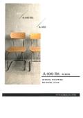 スクール家具『A-100 RE.シリーズ』 製品カタログ