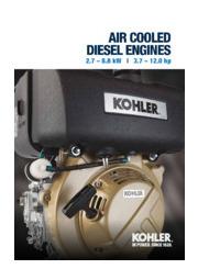 【英語版】KOHLER社 エンジン 空冷2.7-8.8kW 表紙画像