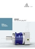 IO-Link対応スマート減速機『cynapse』パンフレット(英語版)