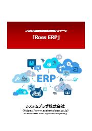 プロセス製造業統合基幹業務パッケージ『Ross ERP』 表紙画像