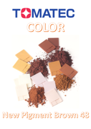 TOMATEC COLOR 優環境顔料 『Now Pigment Brown 48』 表紙画像