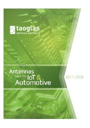 Taoglas製アンテナ 表紙画像