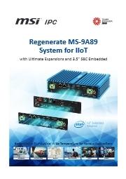 MSI製産業用BOXPC 表紙画像
